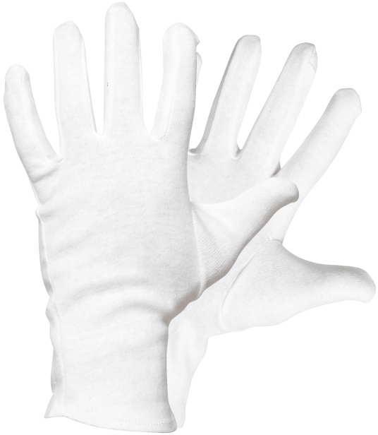 5051 bělená bavl.rukavice kitte, CORMORAN 01030002 121511