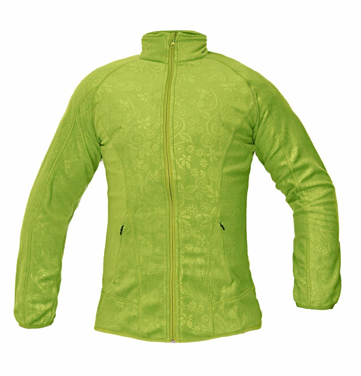 YOWIE fleece mikina zelená 03010323 10  M