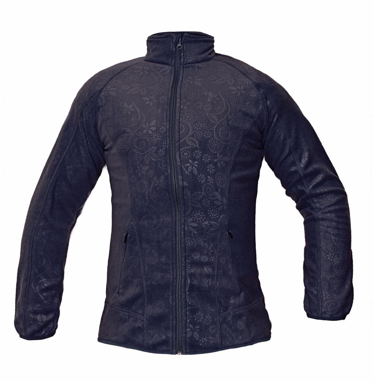 YOWIE fleece mikina navy/tm. modrá 03010323 41 L