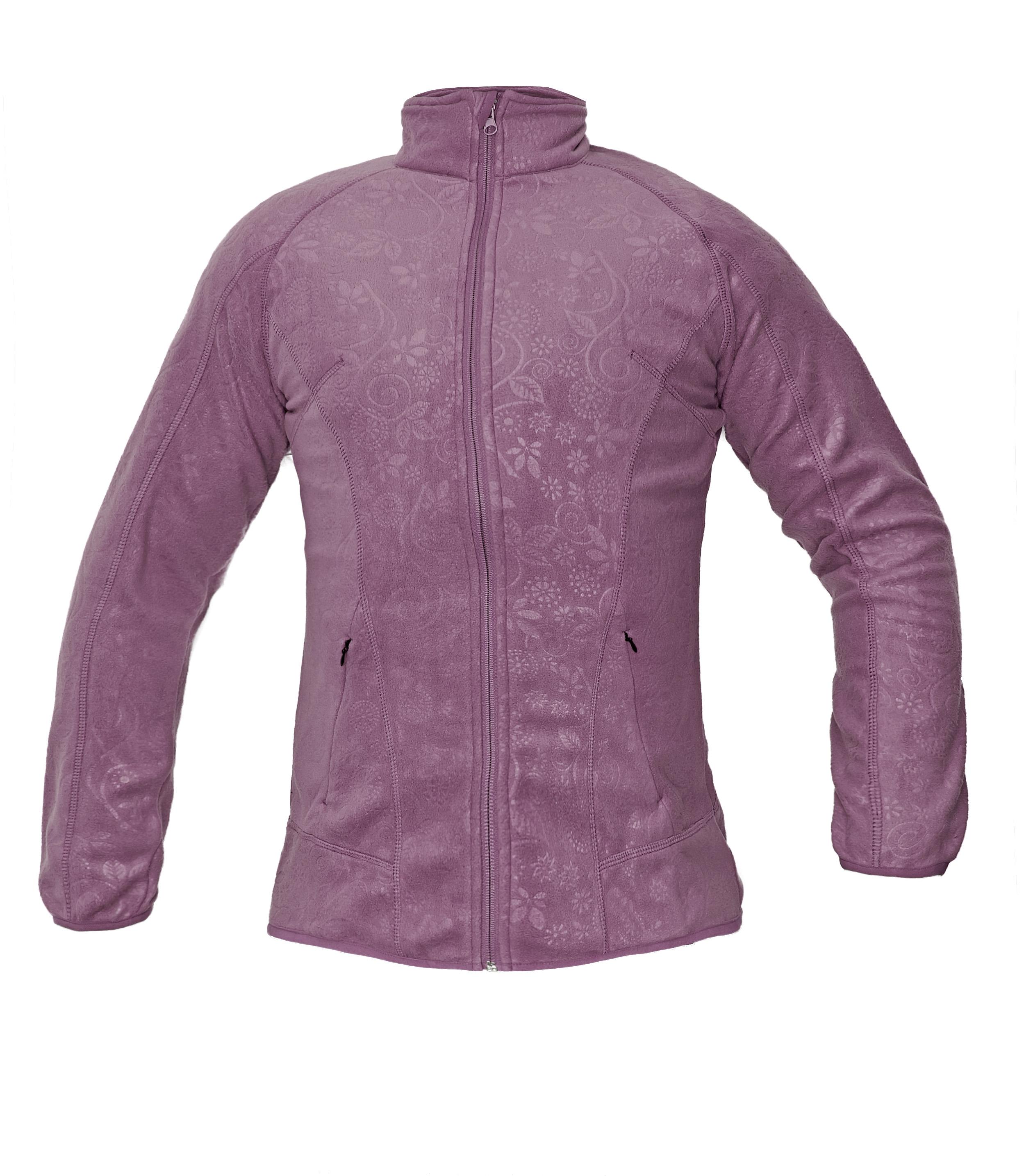 YOWIE fleece mikina růžová 03010323 57  S