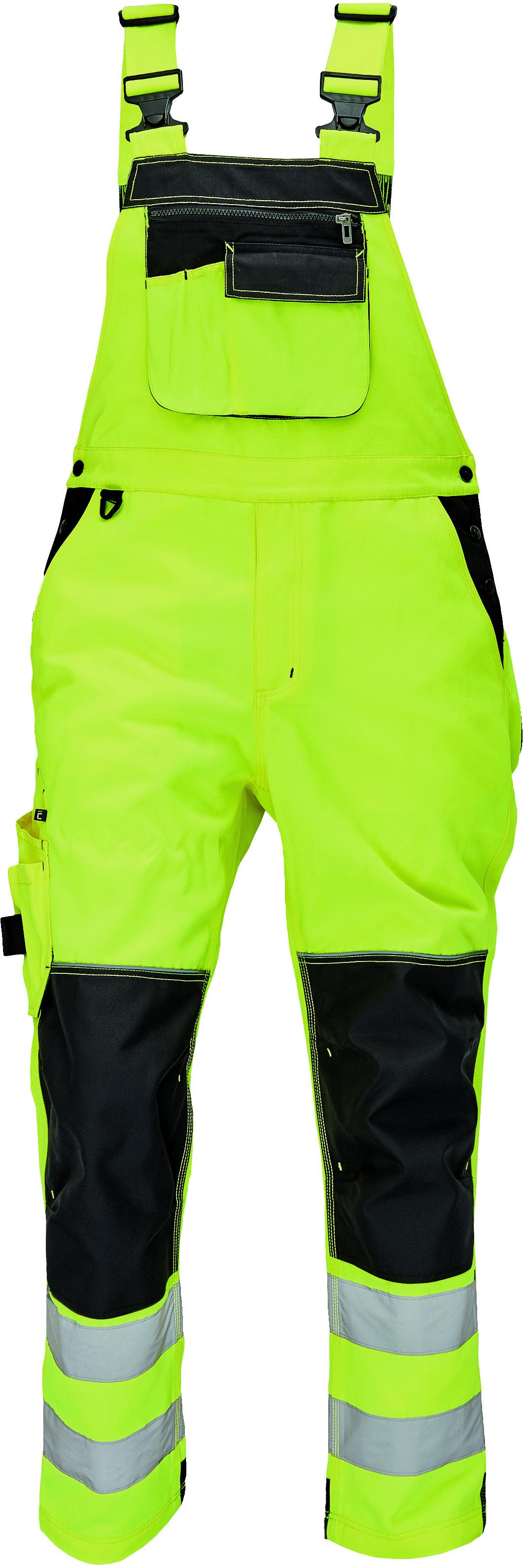 KNOXFIELD HV FL kalhoty laclové 03020328 žluté 54