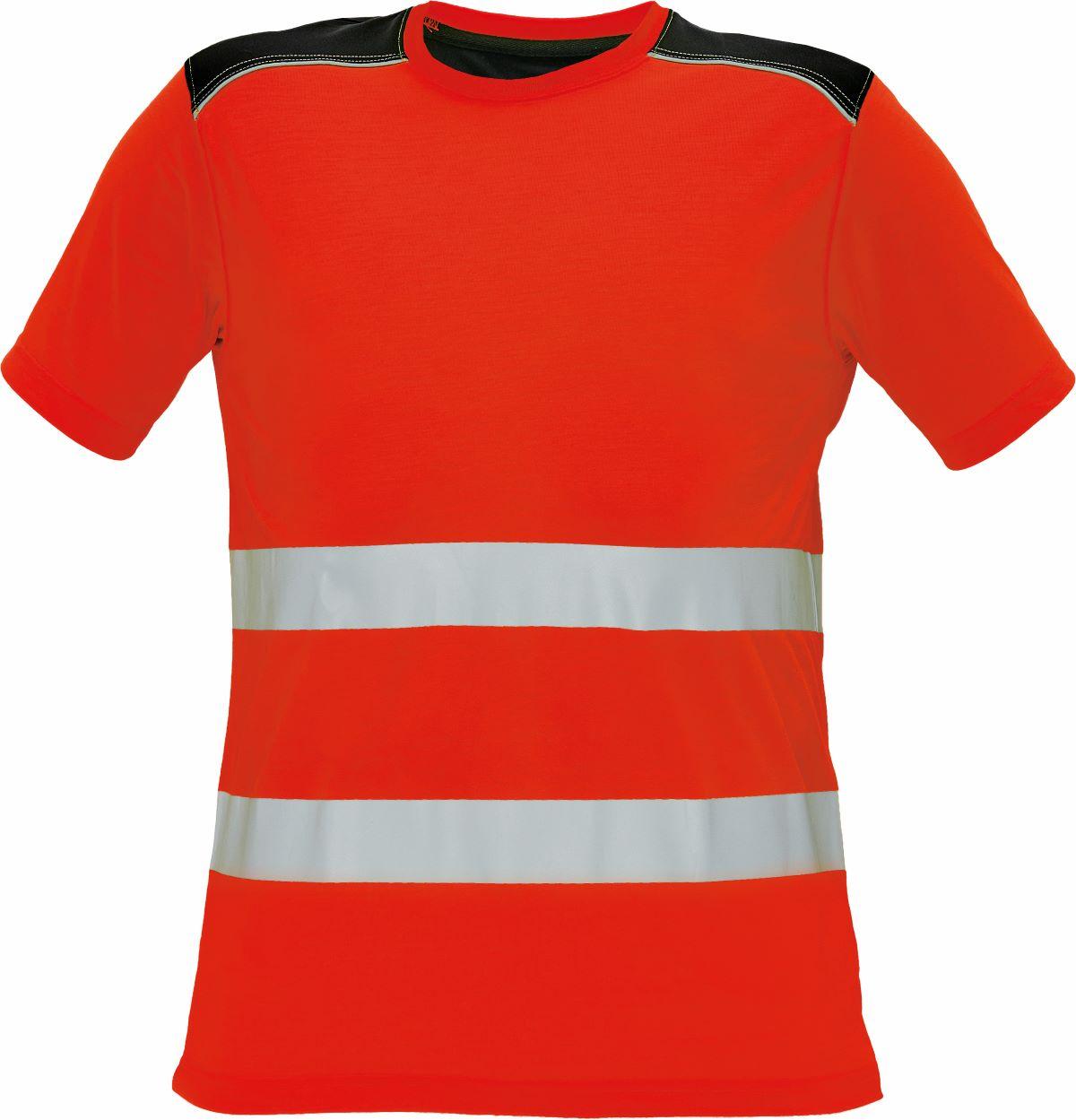 KNOXFIELD HV triko červená S
