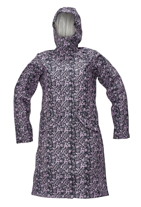 YOWIE LADY plášť navy/fialová L