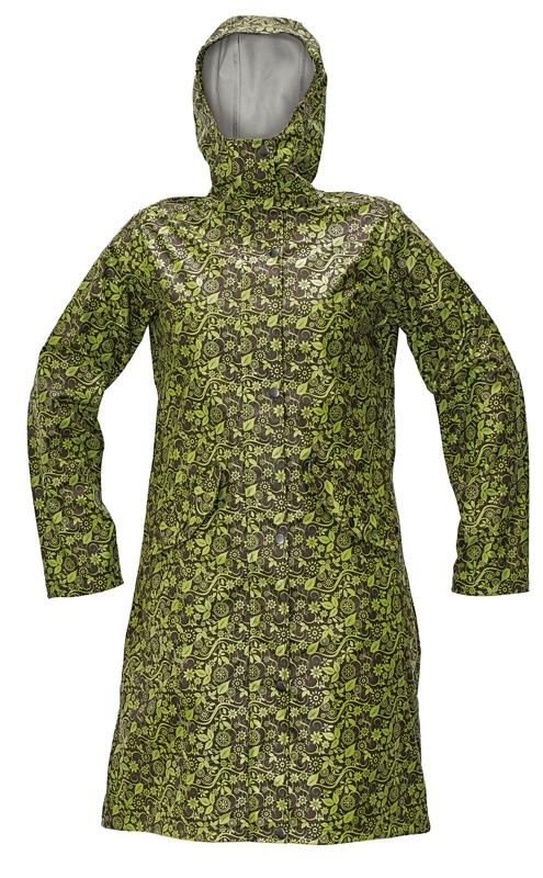 YOWIE LADY plášť hnědá/zelená M