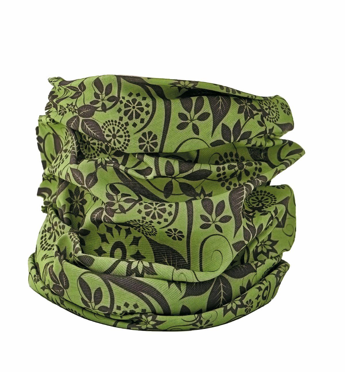 CLIF šátek zelený multifunkční