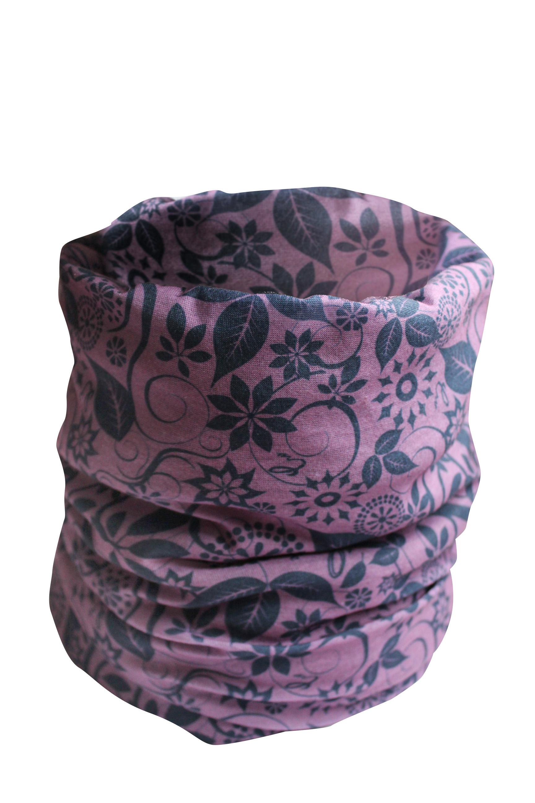 CLIF šátek fialový multifunkční