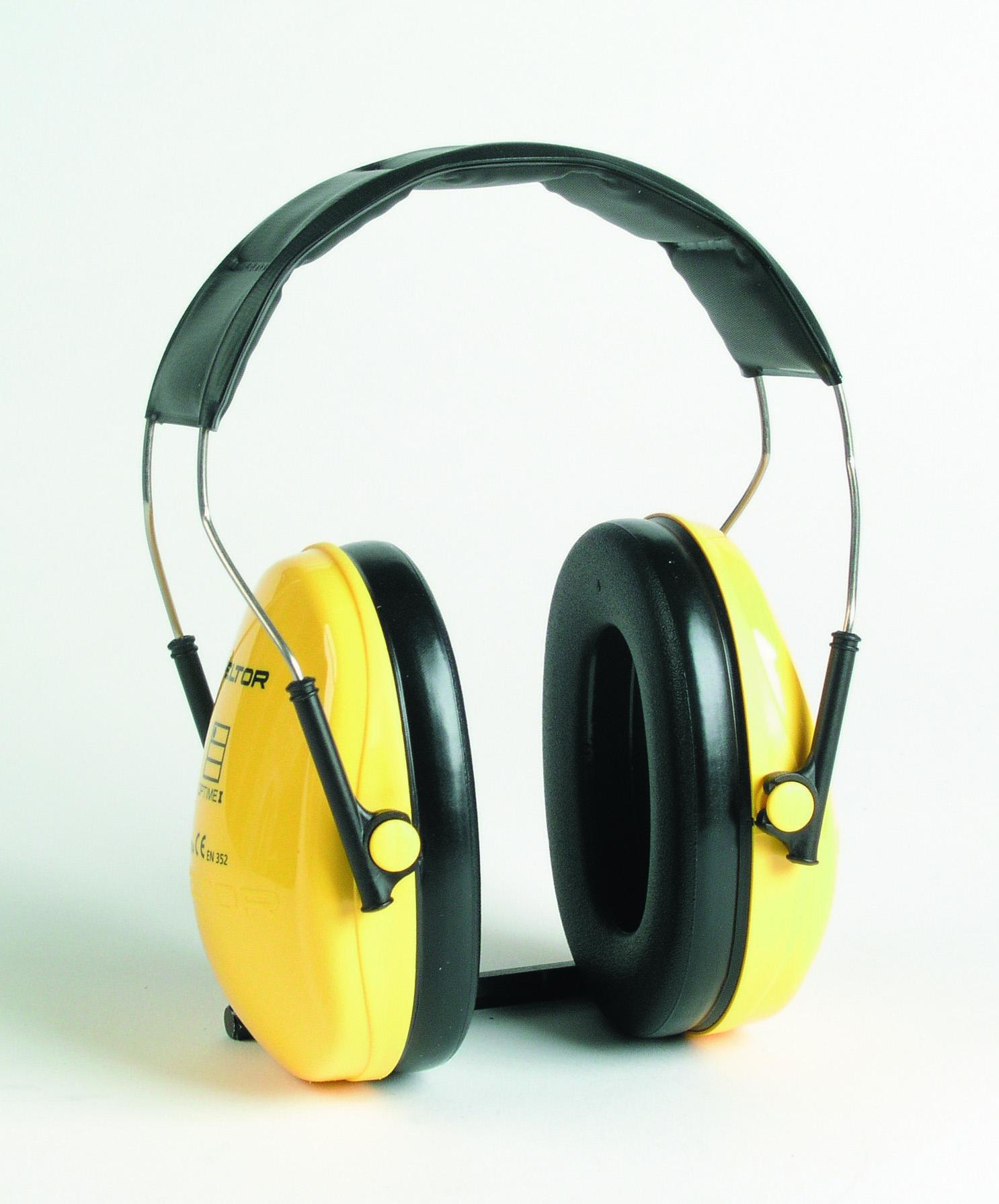 H510A optime1 PELTOR chránič sluchu žlutý 45227 27dB