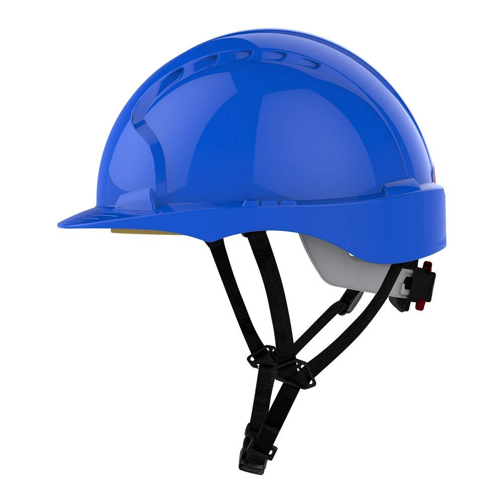 EVO3 LINESMAN modrá přilba ochran.