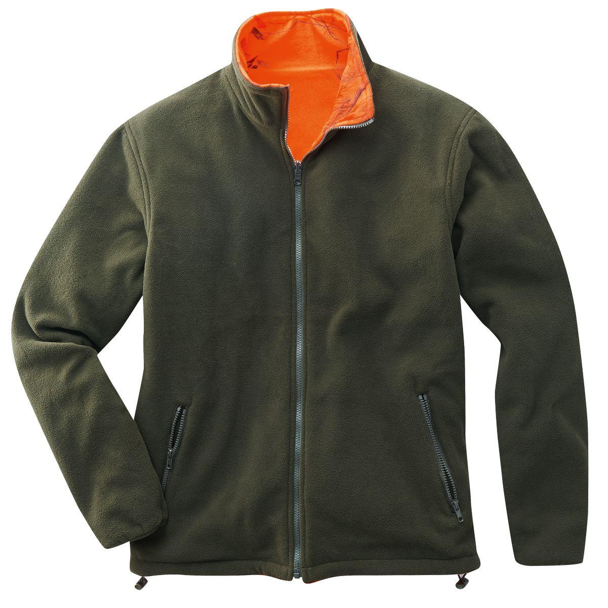 WILLOW oboustrana bunda fleece 8190 L