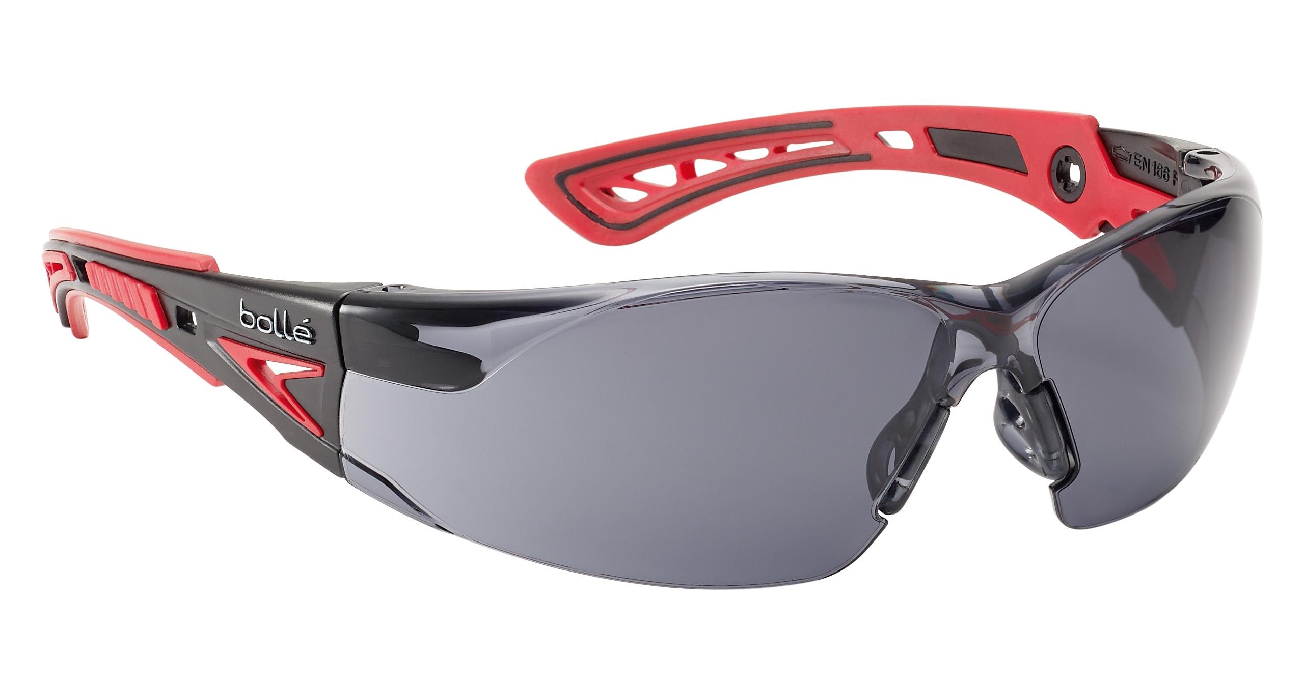 Brýle BOLLE TMAVÉ B10060 RUSH+kouřové - 99,99% ochrana proti UVA/UVB záření