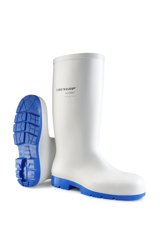 ACIFORT bílá obuv gumová prac. 35
