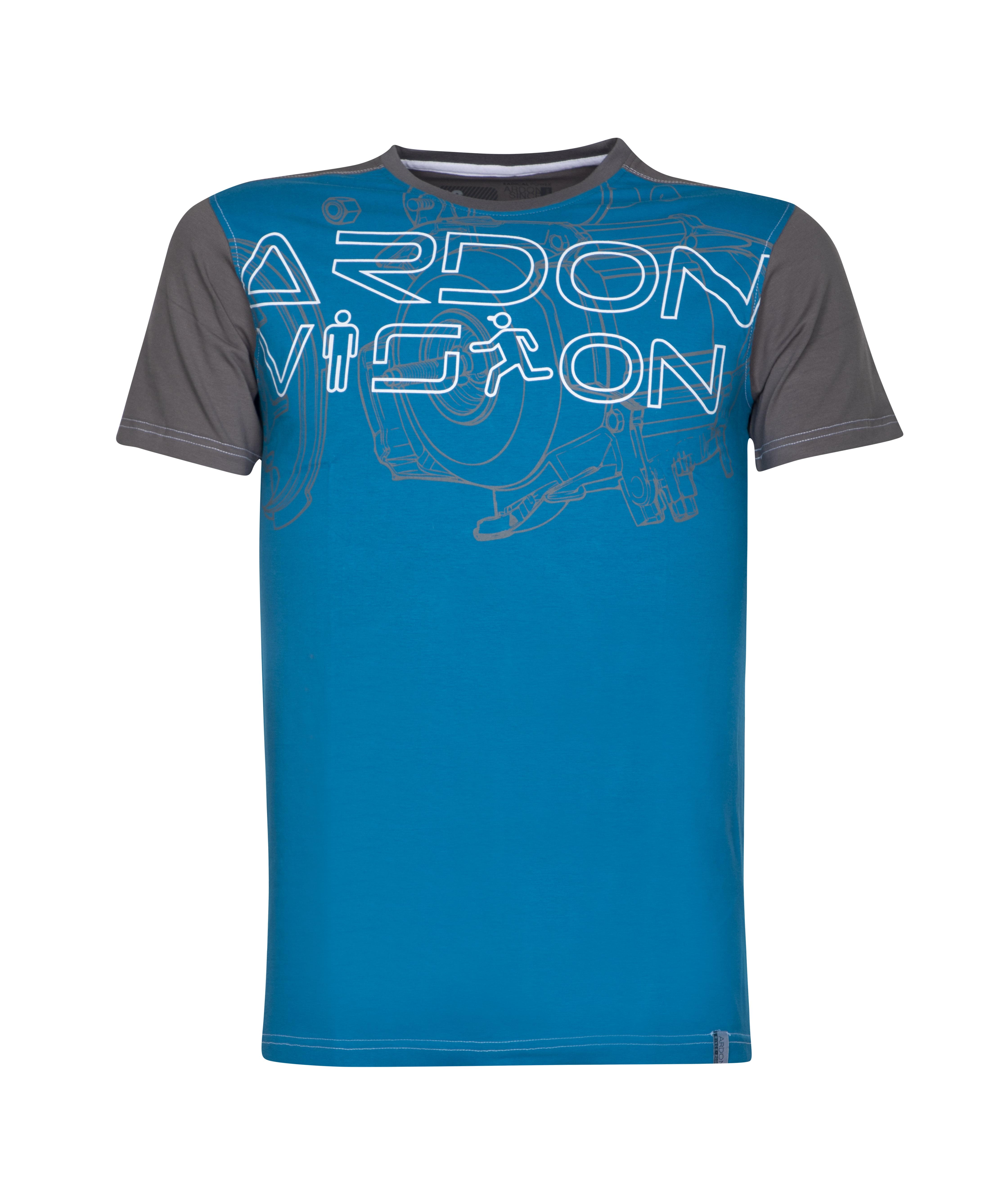 Triko VISION H9729 modré prac. L