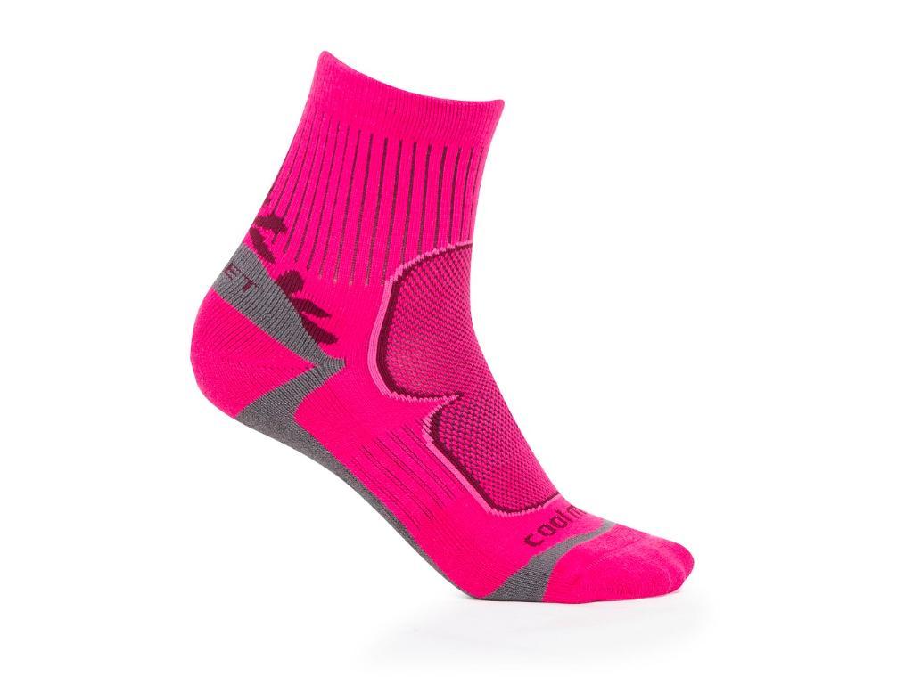 H1502 ponožky dámské pink/růžové 35-38