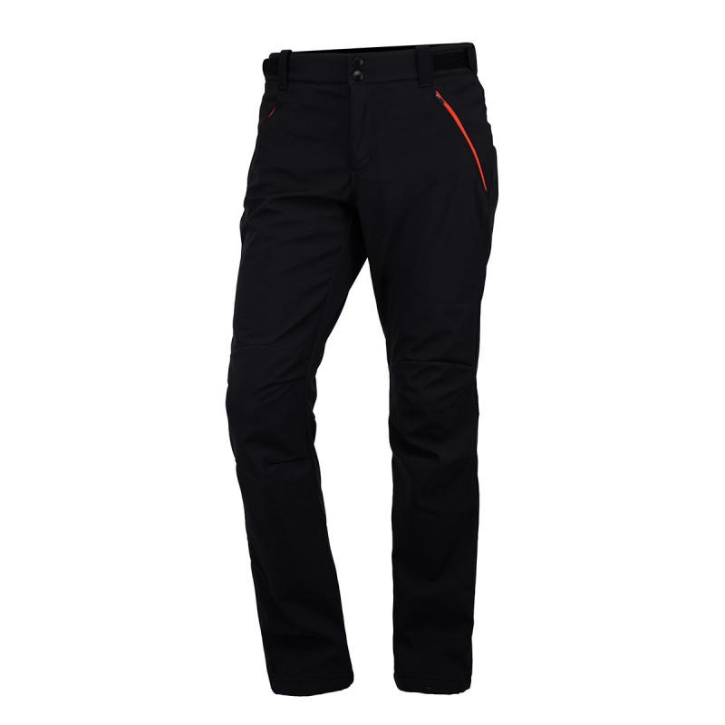NO-3437 kalhoty pánské blackorange 270 M