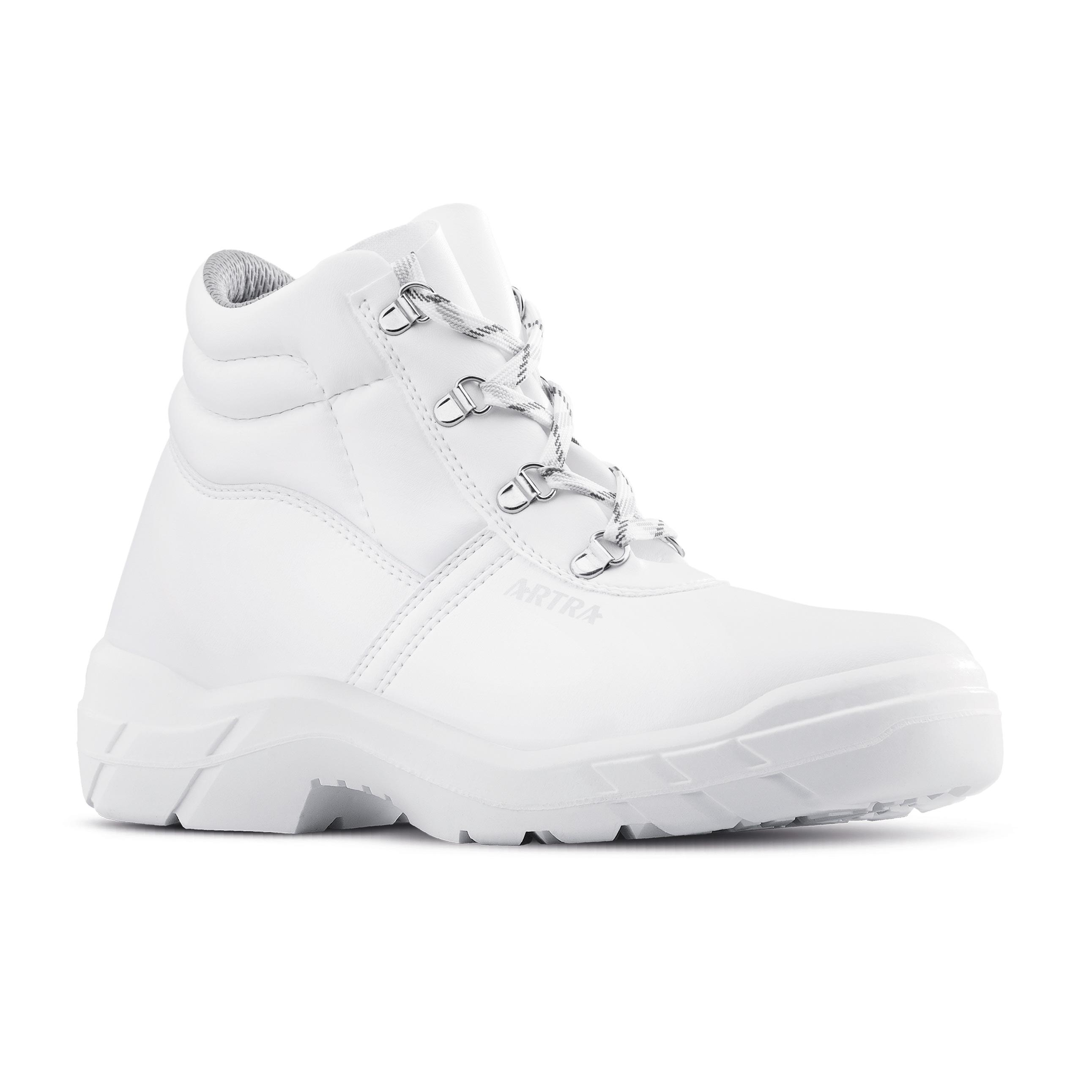030940 ARAUKAN BÍLÁ zimní obuv prac. 37-47